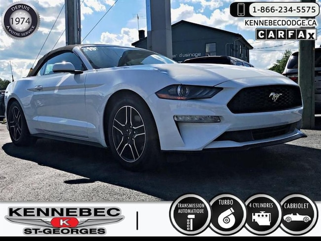 2018 Ford Mustang EcoBoost Convertible Cabriolet