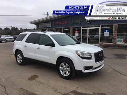Used 2016 Gmc Acadia For Sale At Kentville Chrysler Dodge Jeep
