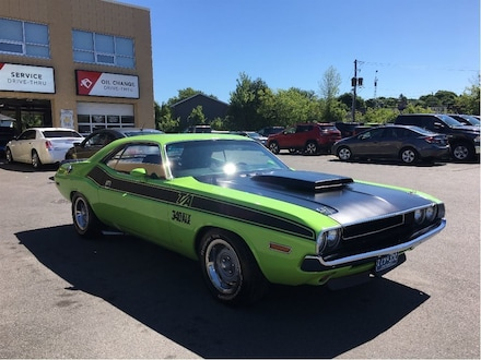 1971 Dodge Challenger Cloned as a 1970 TA Coupe