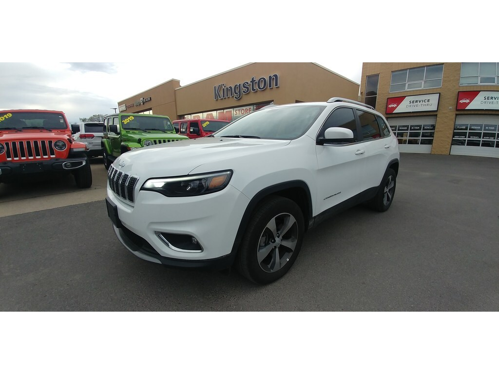 2019 Jeep Cherokee Limited 4X4 - Heated Seats/Steering, Backup Cam SUV