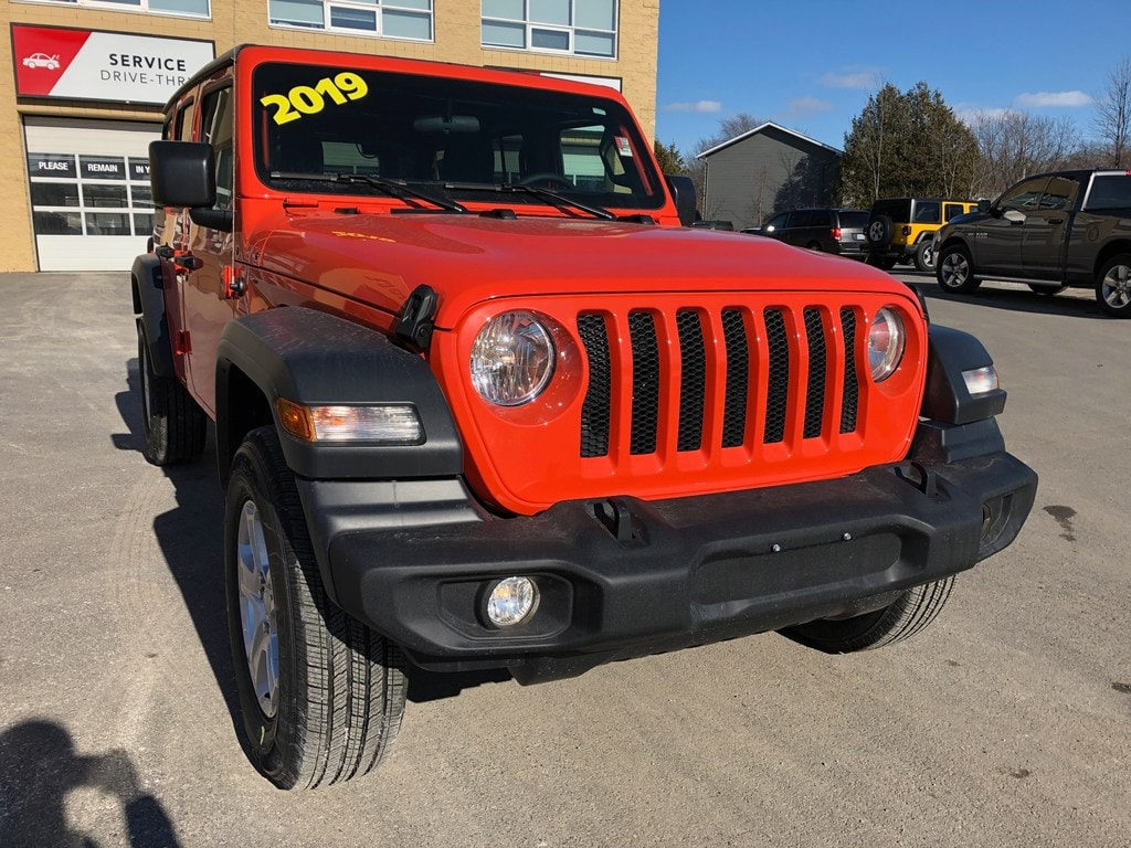 2019 Jeep Wrangler Unlimited Sport S - INVOICE PRICING! SUV