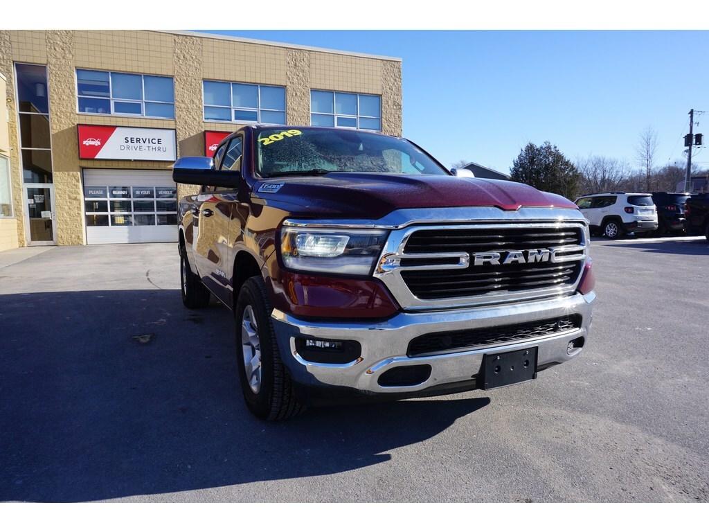 2019 Ram All-New 1500 Big Horn 4x4 Truck Quad Cab