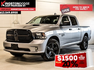 2021 Ram 1500 Classic Night Edition Express | Heated Seats | Heated Stee 4x4 Crew Cab 5.6 ft. box 140 in. WB