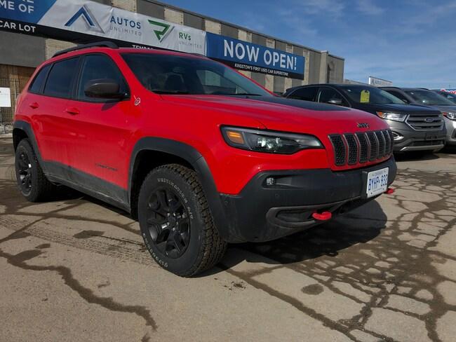 2019 Jeep New Cherokee Trailhawk 4x4 - Heated Seats, Remote Start SUV