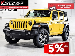 2021 Jeep Wrangler Unlimited Sport S | Dual Tops | Remote Start | Hea 4x4