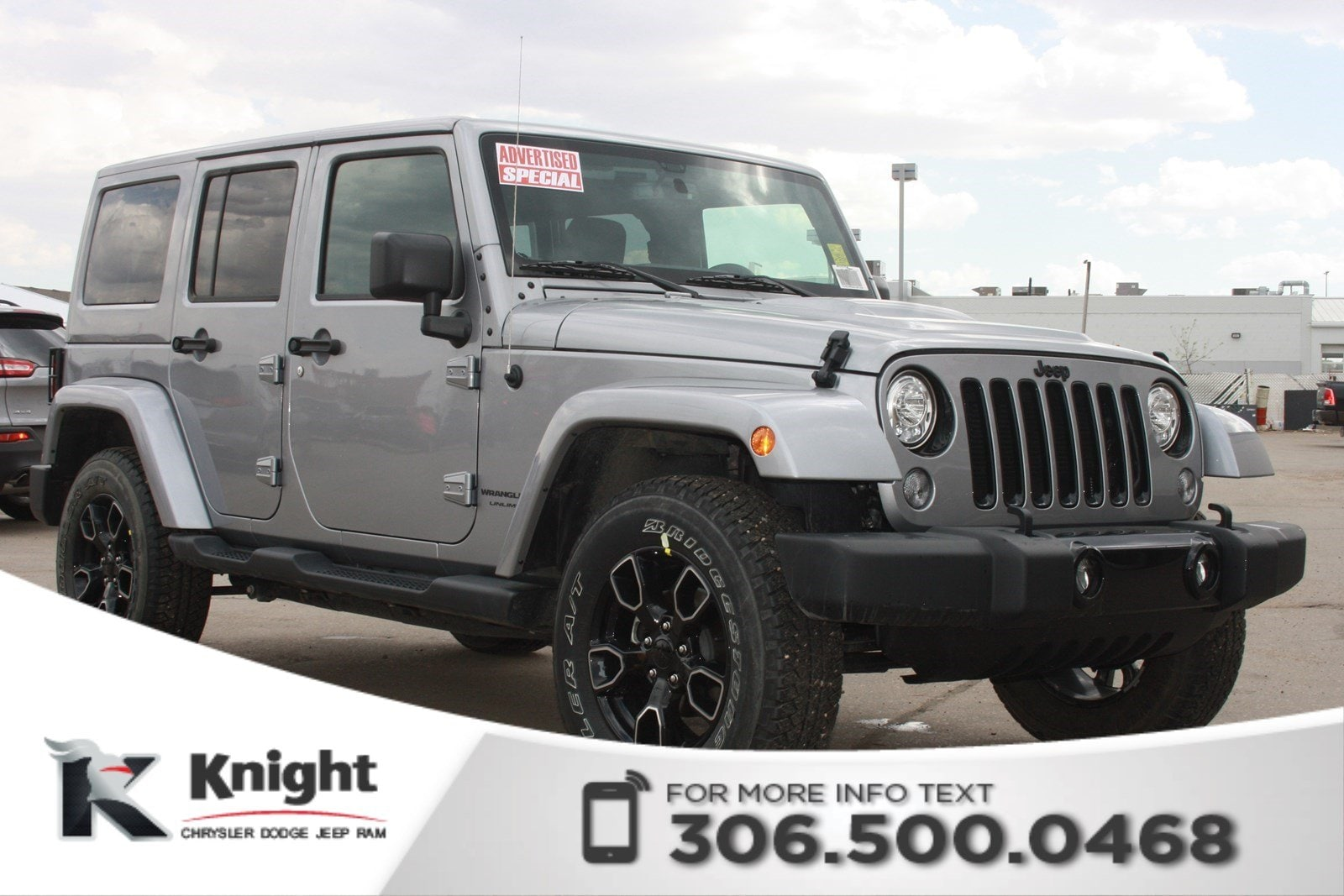 2018 Jeep Wrangler JK Altitude *Advertised Special* | Navigation | Remot SUV