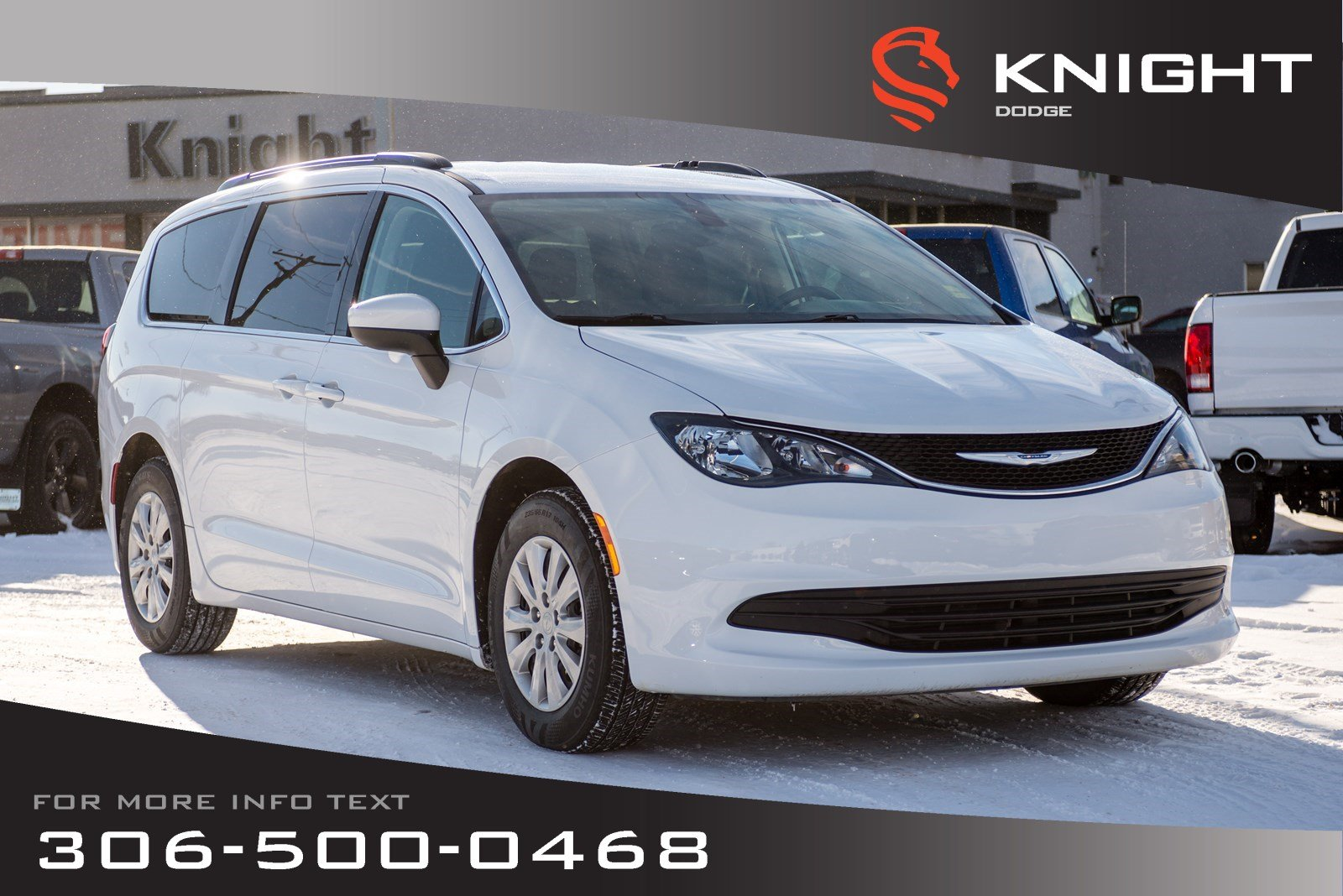 2017 Chrysler Pacifica LX | Bluetooth | 2nd & 3rd Row | Stow-N-Go Seats Wagon