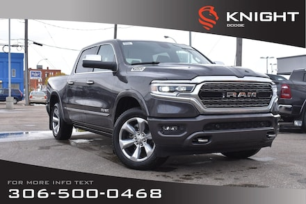 2020 Ram 1500 Limited Crew Cab | Navigation | 12 Touchscreen