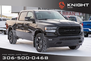2020 Ram 1500 Big Horn Crew Cab | Heated Seats and Steering Whee Truck Crew Cab