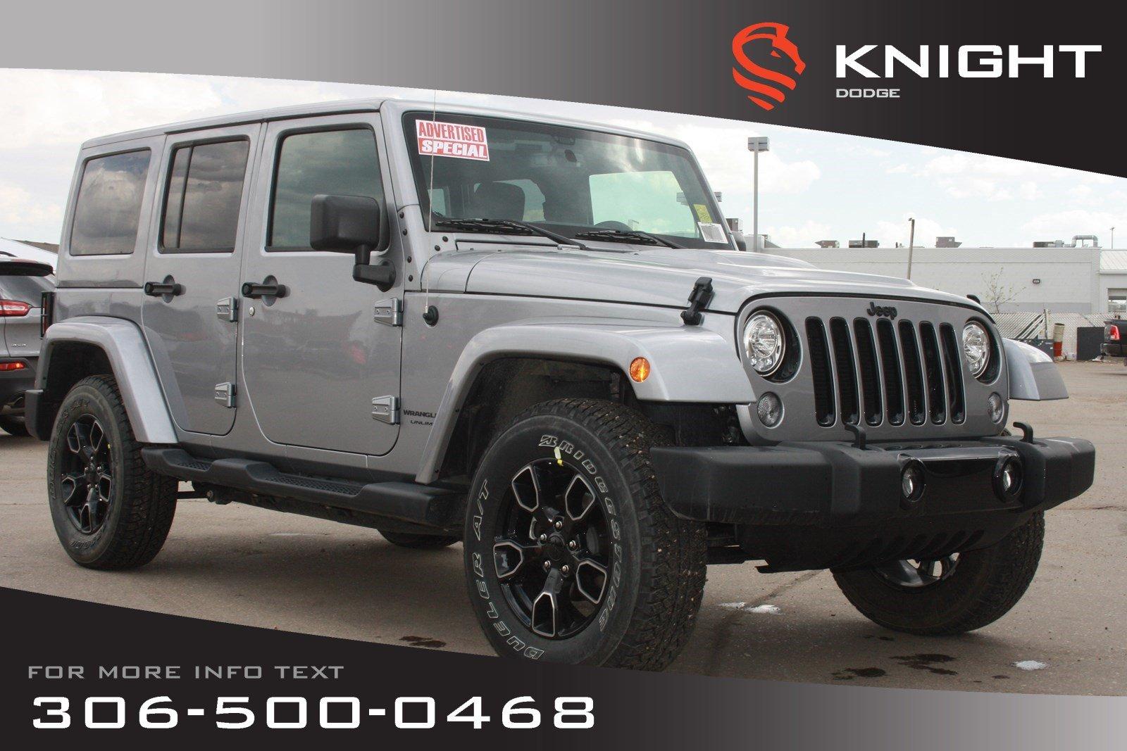 2018 Jeep Wrangler JK Altitude *Advertised Special* | Navigation | Remot SUV