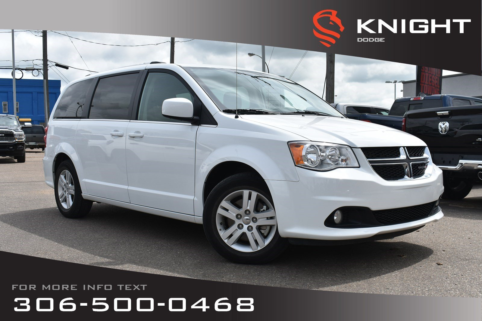 2018 Dodge Grand Caravan Crew Plus | Leather | Heated Seats & Steering Whee Crew Plus 2WD