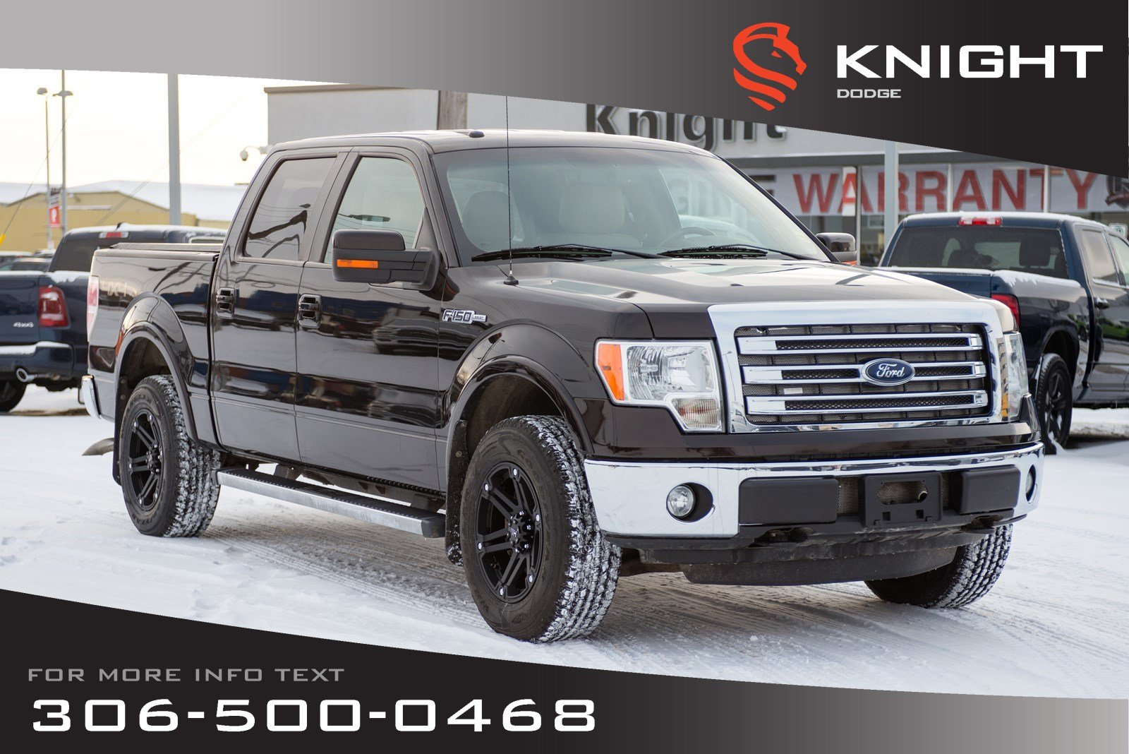 2013 Ford F-150 Lariat | Leather | Heated & Cooled Seats