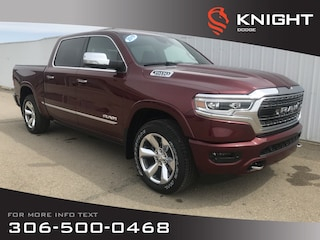 2019 Ram All-New 1500 Limited Crew Cab 4x4 | HEMI | Leather Heated Seats Truck Crew Cab