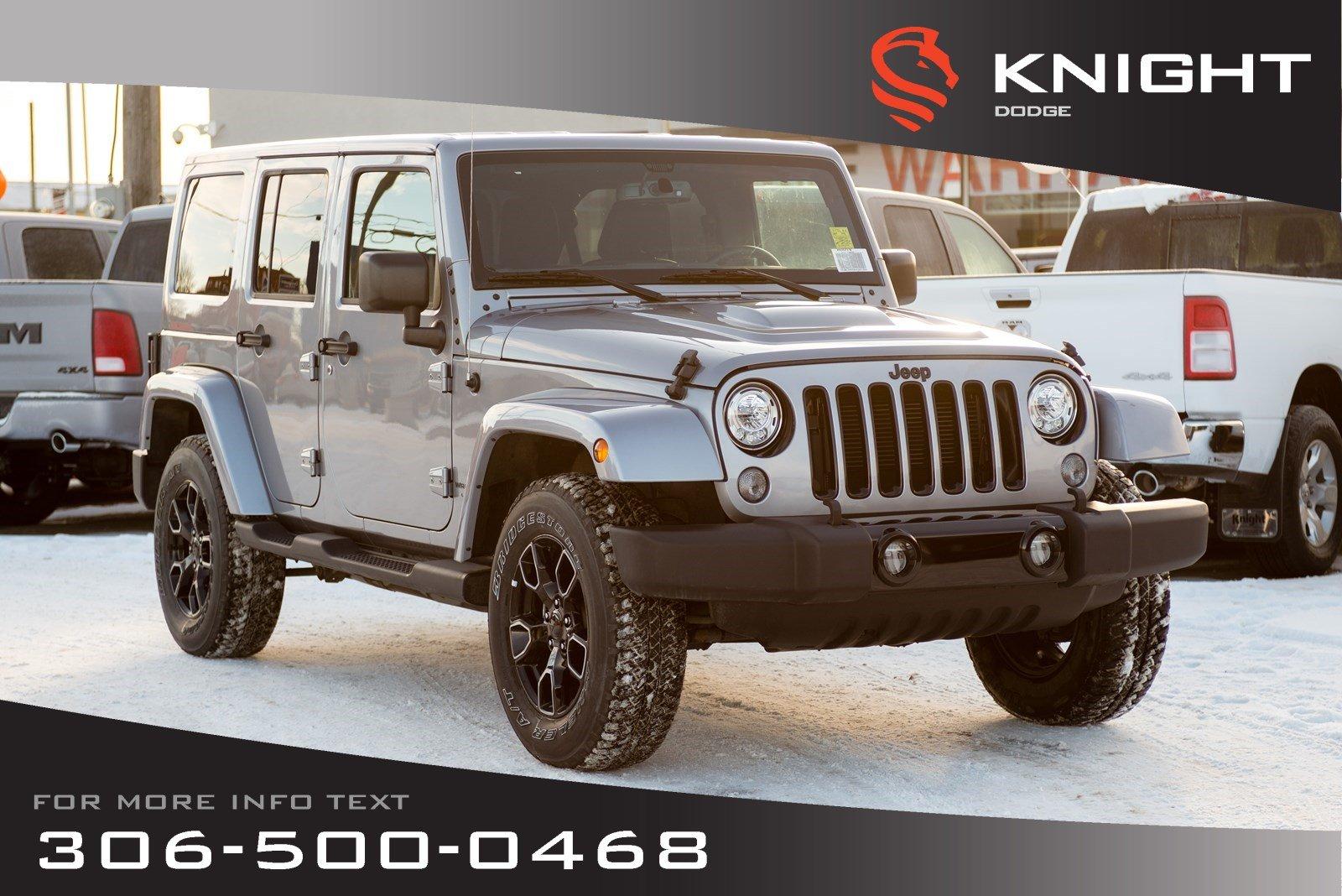 2018 Jeep Wrangler JK Altitude *Advertised Special*   Navigation   Remot SUV