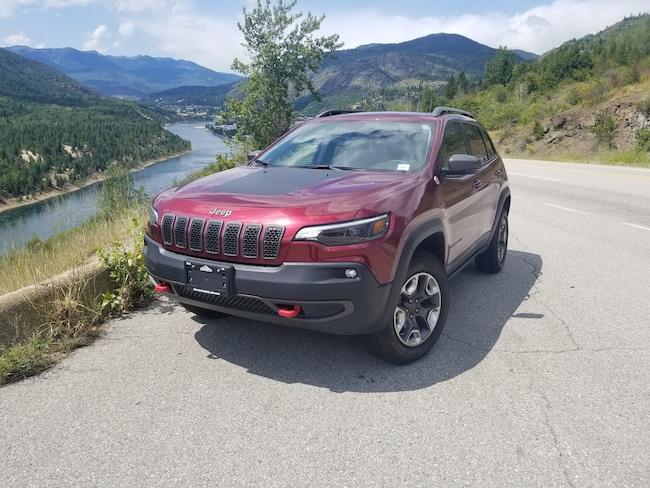 2019 Jeep New Cherokee Trailhawk 4x4