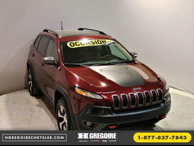 2018 Jeep Cherokee Trailhawk Leather Plus Toit 4x4