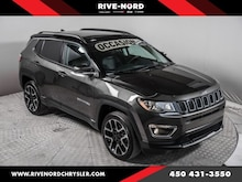 2018 Jeep Compass Limited 4X4 Toit Navigation Cuir
