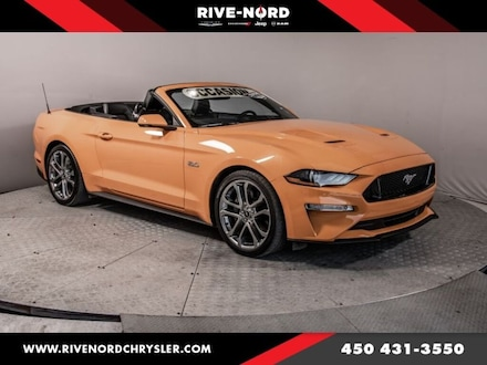 2019 Ford Mustang GT Premium Convertible 5.0 Litres Cuir Navigation