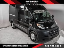 2018 Ram Promaster 2500 High Roof 136 WB Navigation 3 Places