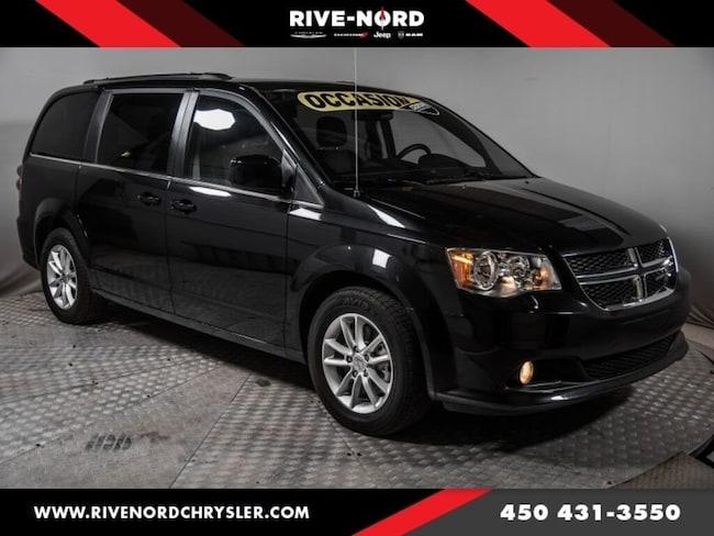 2018 Dodge Grand Caravan SXT Premium Plus Cuir Navigation DVD
