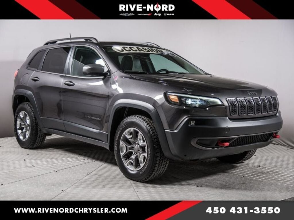 2019 Jeep Cherokee Trailhawk Elite 4x4 Cuir Toit Panoramique Cuir LED
