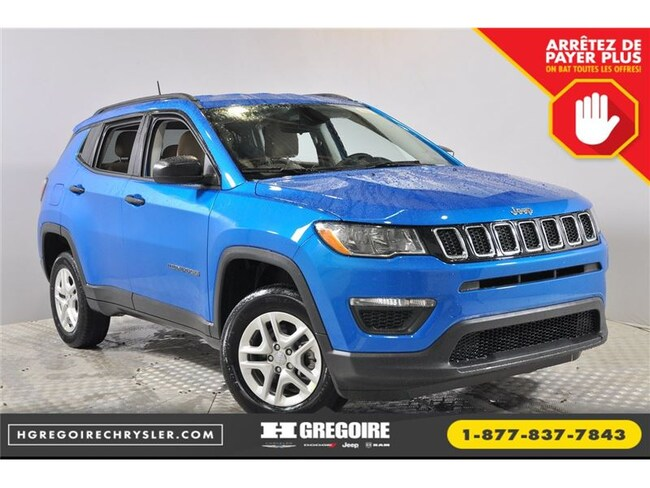 2018 Jeep Compass Sport 4X4 Camera Bluetooth 0% SUV
