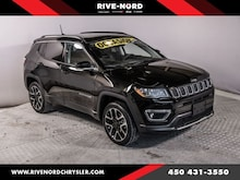 2018 Jeep Compass Limited 4X4 Toit Panoramique Cuir Navigation Mags