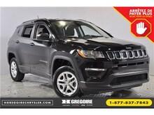 2018 Jeep Compass Sport 4X4 Sieges ET Volant Chauffants Bluetooth 0% VUS