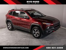 2018 Jeep Cherokee Trailhawk Leather Plus Toit 4x4
