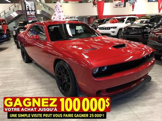2015 Dodge Challenger SRT**Hellcat**BAS KM**Jamais Accidente**Pneus Neuf Coupé