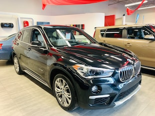 2018 BMW X1 28i**XDRIVE**UNE SEULE PROPRIETAIRE**CUIR BEIGE** SUV