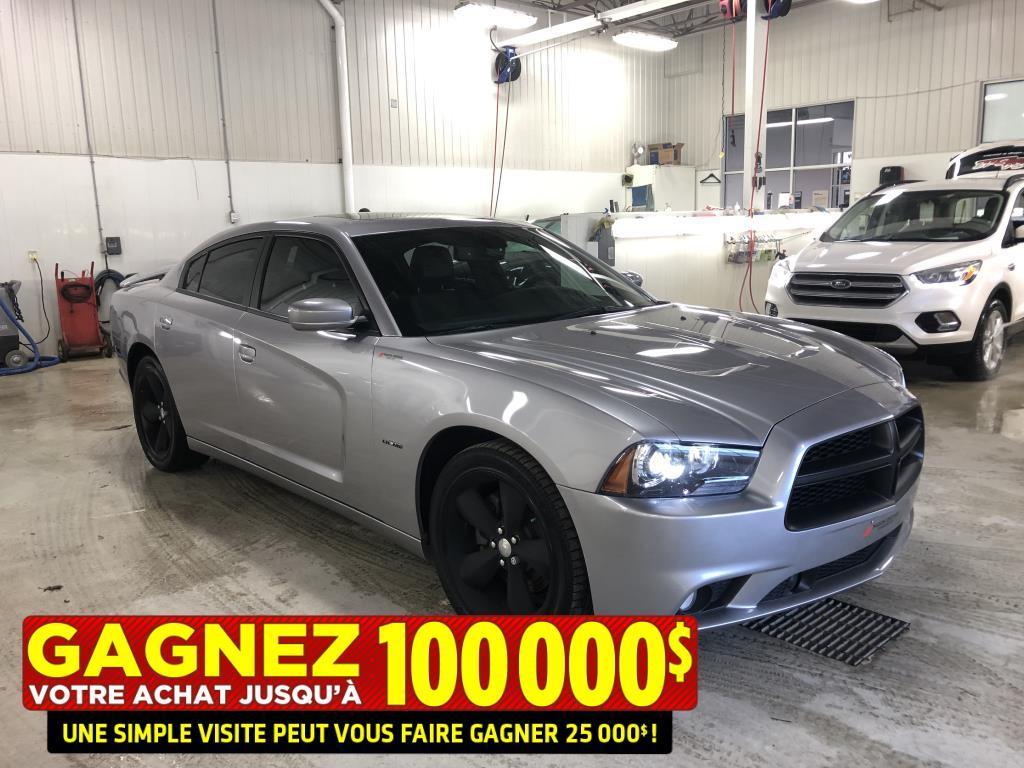 2014 Dodge Charger R/T**5.7L Hemi**Aileron**GPS**Mags 20 PO Noir** Berline