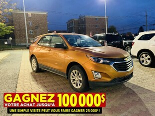 2018 Chevrolet Equinox LS**AWD**Jamais Accidente**Camera DE Recul** SUV
