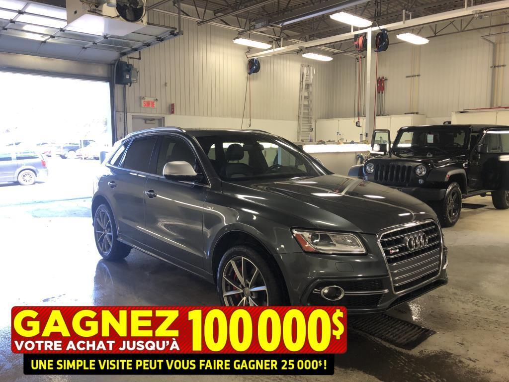 2016 Audi SQ5 3.0T**Progressiv**Quattro**Jamais Accidente** VUS