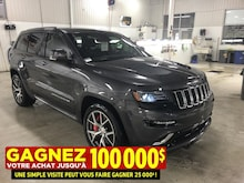 2016 Jeep Grand Cherokee SRT8**BAS KM**Sieges Cuir ET Suede**WOW**6.4 L** VUS