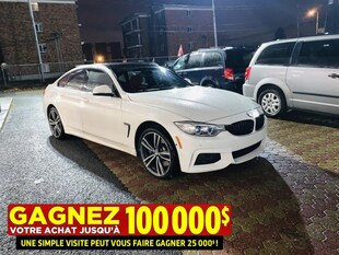 2015 BMW 435i XDRIVE**GRAN COUPE**M PACKAGE**ENCORE GARANTIE** Coupe