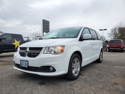2019 Dodge Grand Crew Caravan Crew Plus LEATHER Van Passenger Van