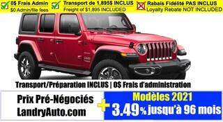 2021 Jeep Wrangler Sahara VUS