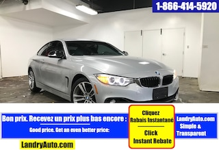 2014 BMW 428i XDRIVE PREMIUM PACKAGE CUIR GPS Coupé