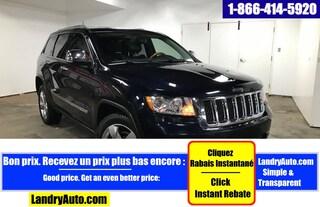 2011 Jeep Grand Cherokee OVERLAND V8 CUIR TOIT PANO GPS MAGS VUS