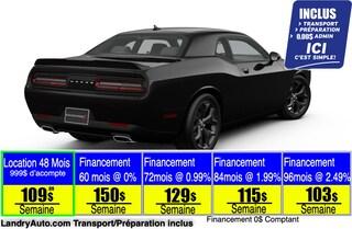 2020 Dodge Challenger SXT Coupé