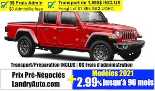 2021 Jeep Gladiator 80th Anniversary Edition 4x4 Crew Cab