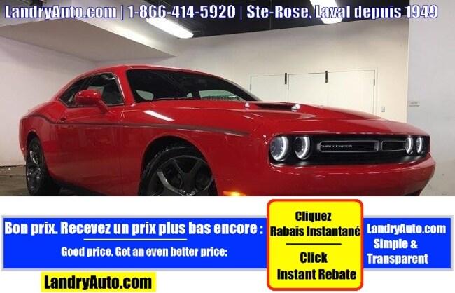 2018 Dodge Challenger SXT PLUS CUIR GPS TRACK PACK Coupé