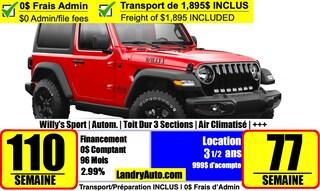 2021 Jeep Wrangler Willys Sport 4x4 Sport Utility