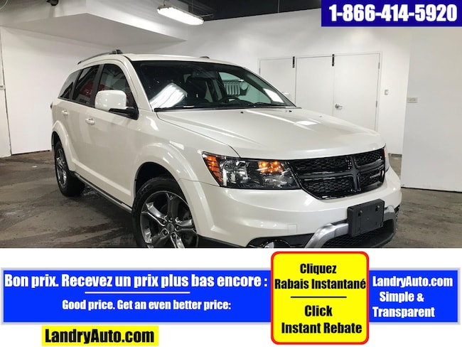 2018 Dodge Journey CROSSROAD V6 AWD CUIR GPS DVD MAGS VUS