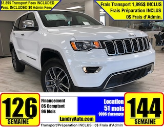 2020 Jeep Grand Cherokee Limited VUS
