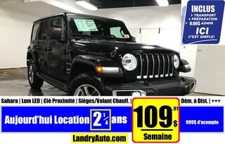 2020 Jeep Wrangler Unlimited Sahara | Prix Employés| VUS