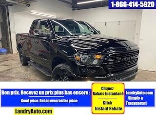 2019 Ram 1500 BIG HORN V6 NIGHT EDITON QUAD 4X4 MAGS Camion