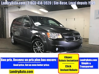 2014 Dodge Grand Caravan 30TH ANNIVERSARY 7 PASS CUIR STOW A/C MAGS Mini-Fourgonnette