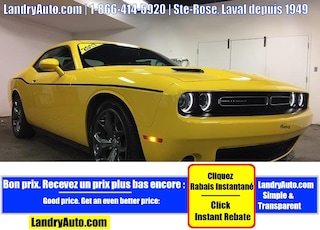 2017 Dodge Challenger SXT PLUS CUIR GPS TRACK PACK Coupe